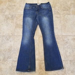 SO Jeans - SO Good Condition Stretchy Flare Leg Blue Jeans